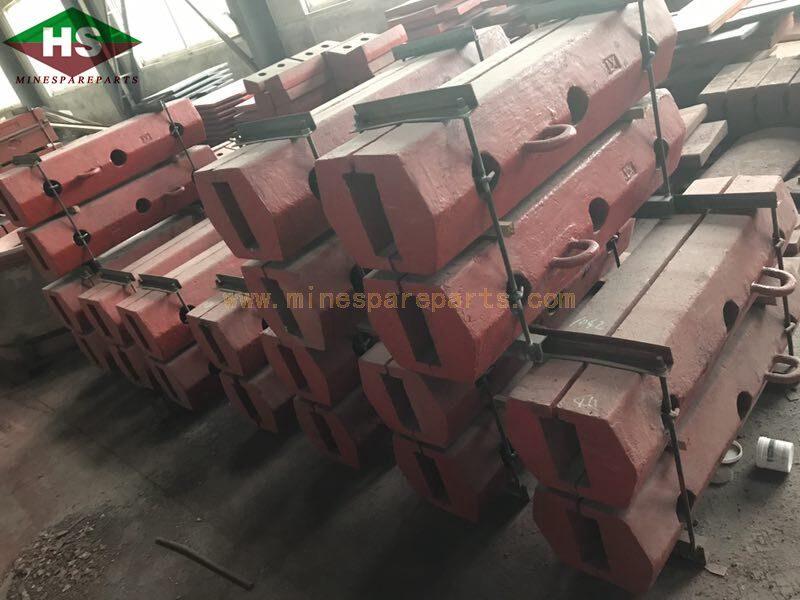 high manganese  18 wear parts